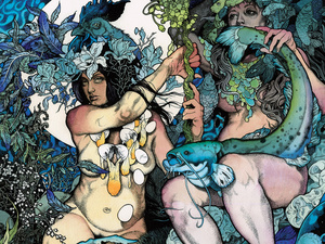 Artwork from Baroness' Blue Record.