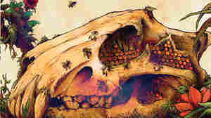 Artwork from Earth's The Bees Made Honey in the Lion's Skull.