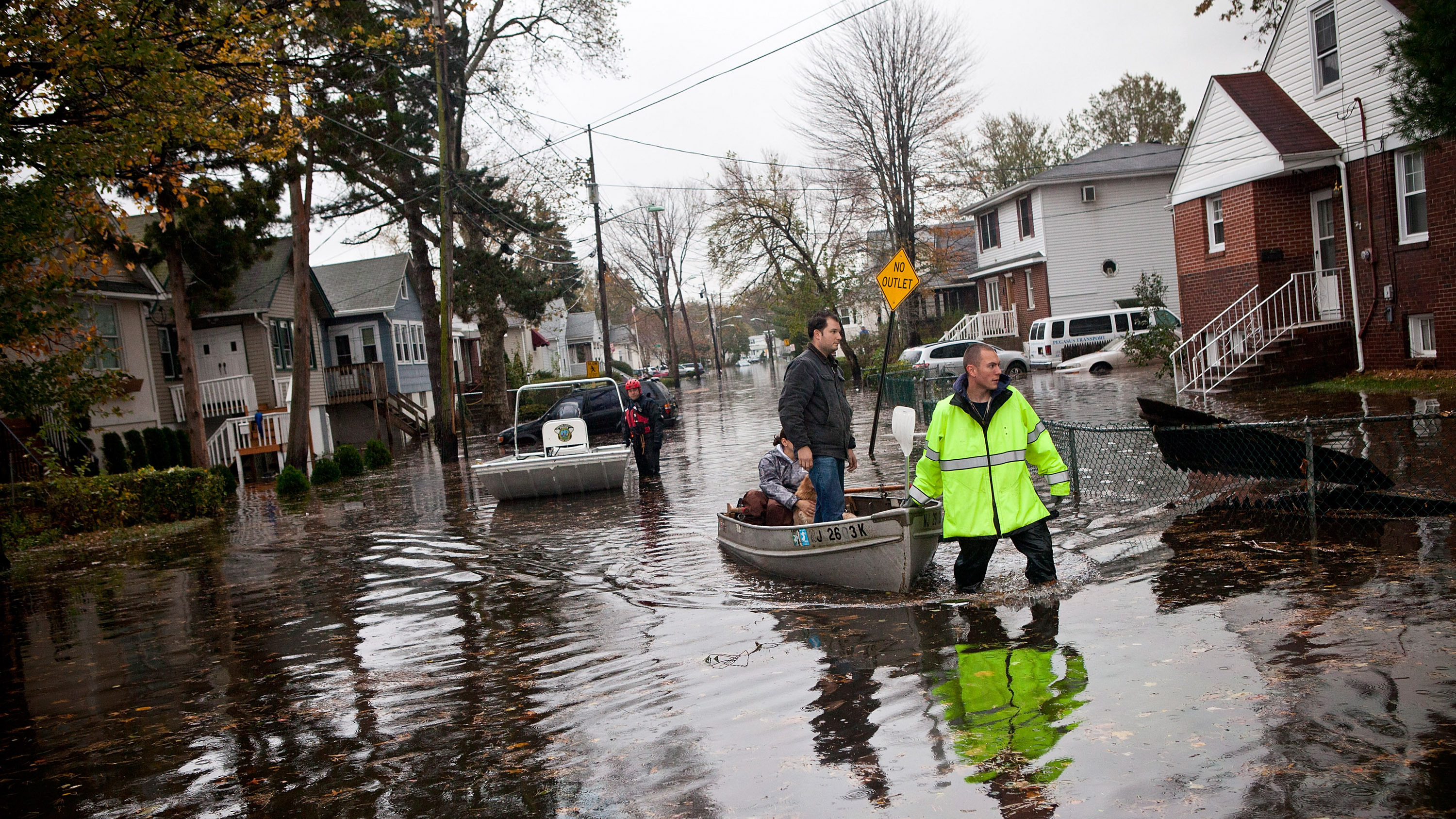 N.J. Braces For Future Disasters By Fleeing, And Fortifying, The Coast