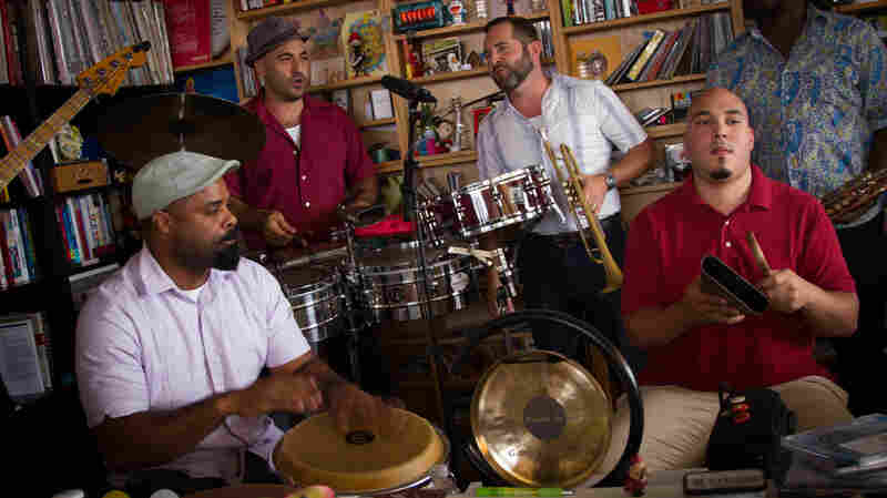 Bio Ritmo preforms a Tiny Desk Concert