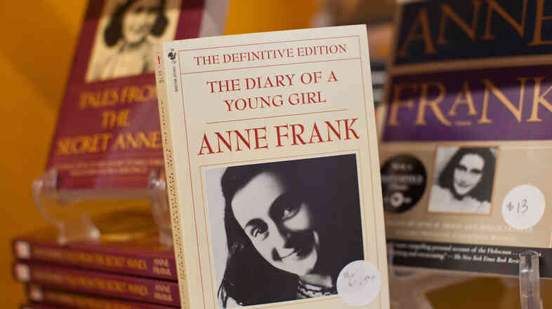 The Diary of a Young Girl by Anne Frank regularly makes banned book lists, but not because it details the terror of hiding from Nazi occupiers.