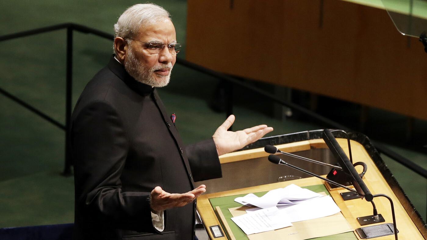 At Un Indias Modi Discusses Pakistan Terrorism And Peace The