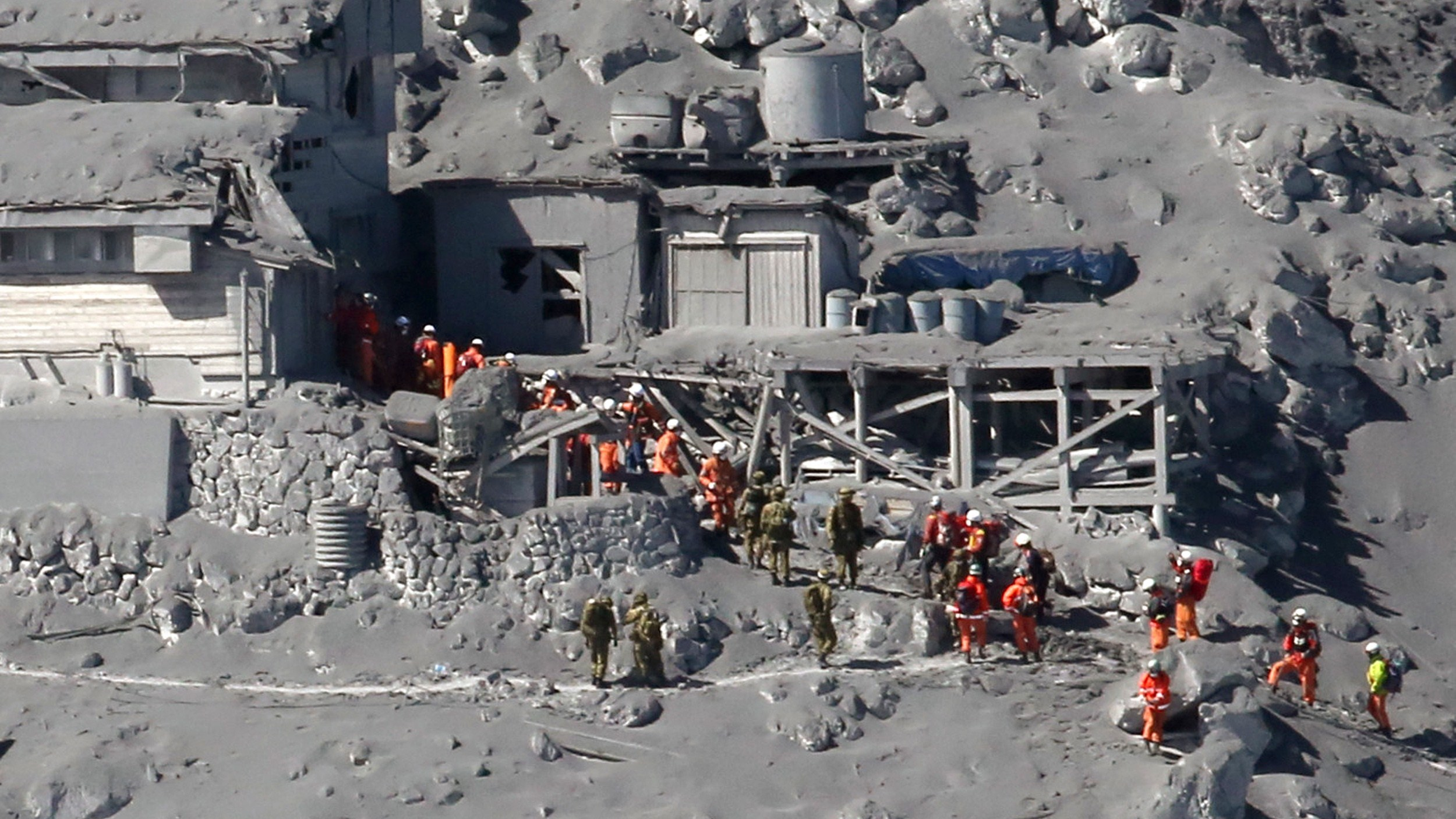 More Than 30 Feared Dead In Japanese Volcano's Eruption
