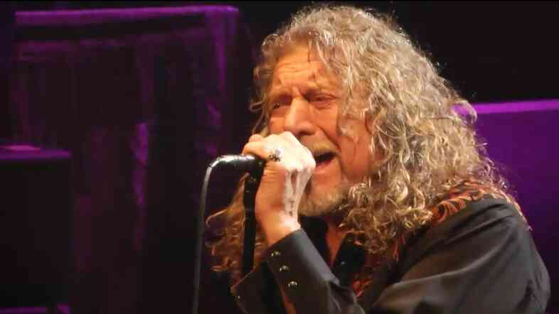 Robert Plant performs live at BAM during an NPR.org webcast.