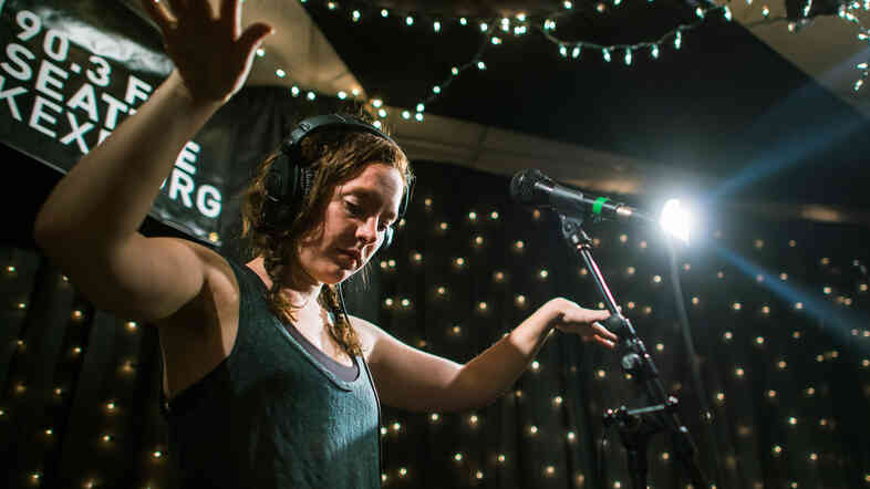 Sylvan Esso performs live on KEXP.