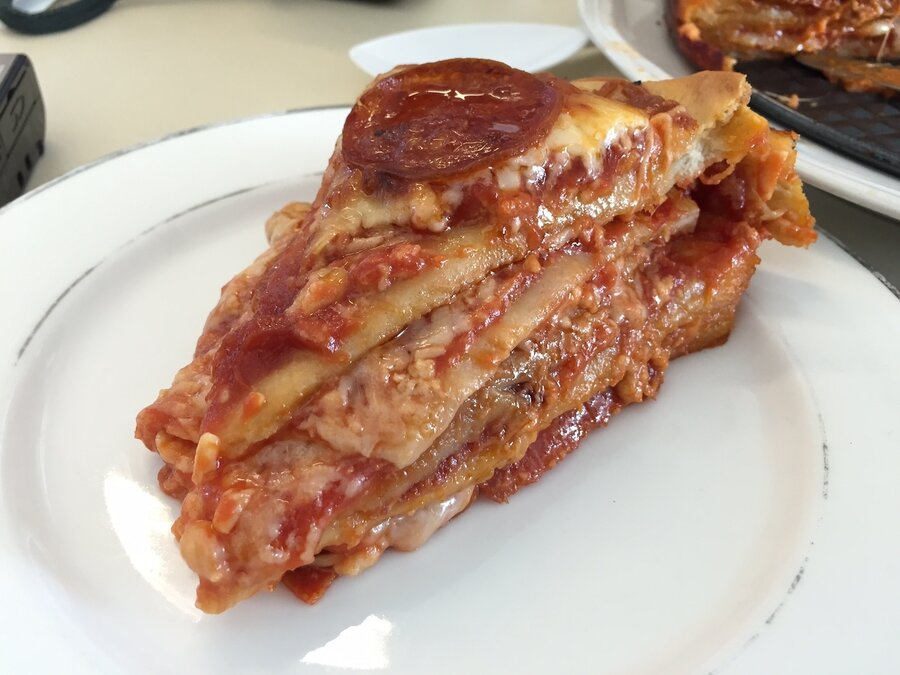 Sandwich Monday The Pizza Cake The Salt NPR