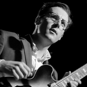 Nick Waterhouse performs live in Allston, Mass., on Feb. 25, 2014.