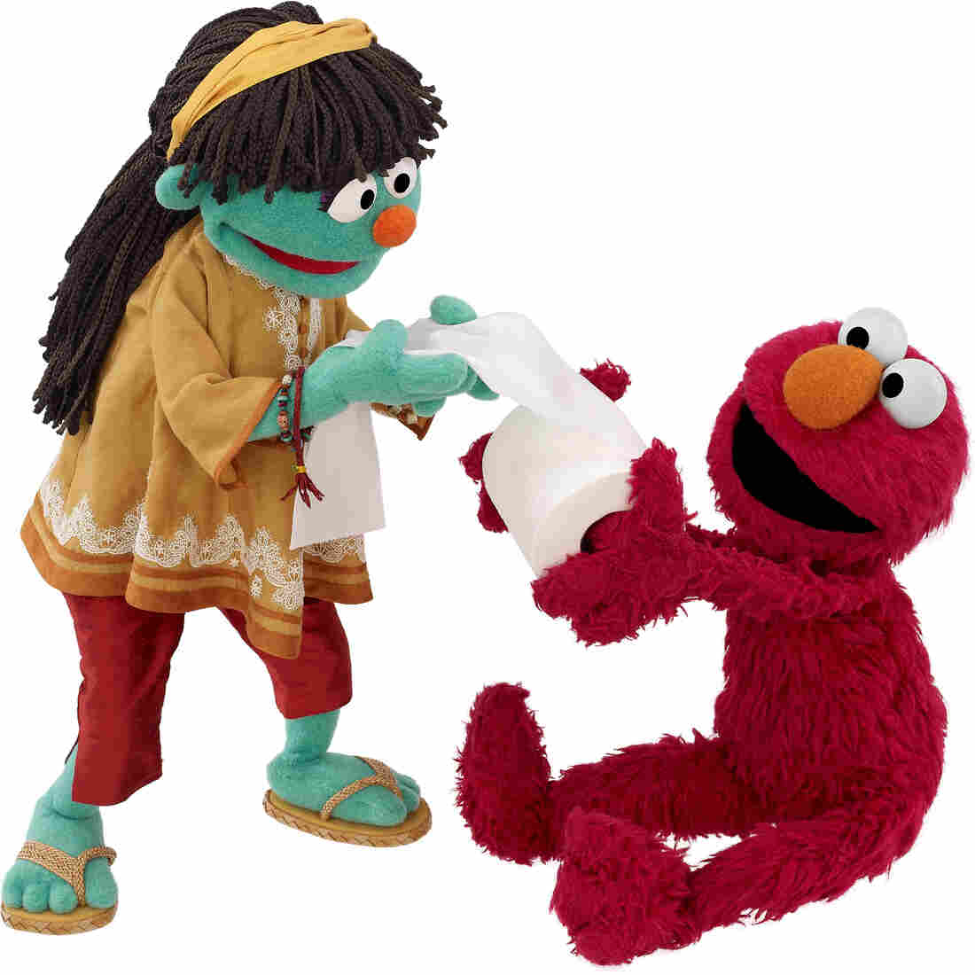 Raya The Muppet Talks About Poop And Is Proud Of It