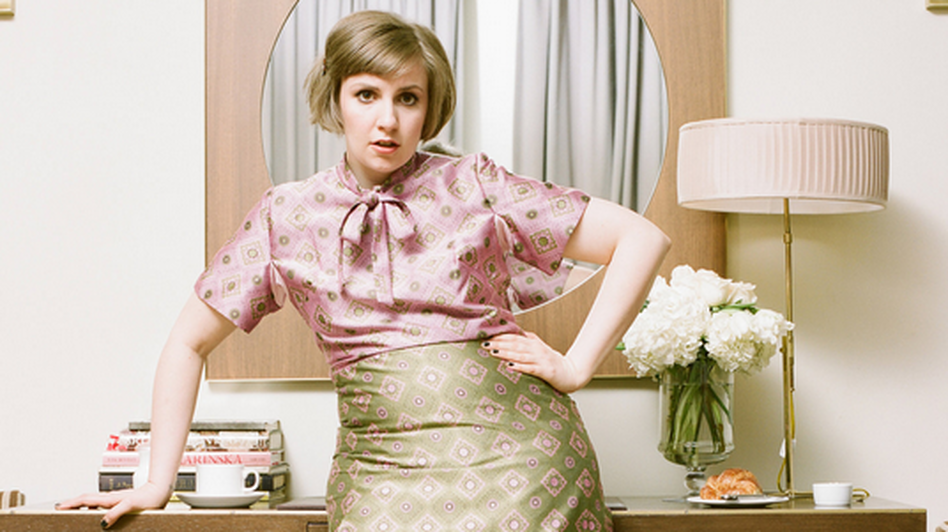 Lena Dunham's new collection of personal essays<em> </em>about her relationships, friendships and obsessive-compulsive disorder has received rave reviews. (Autumn de Wilde/Courtesy of Random House)