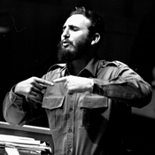 Cuban Premier Fidel Castro addressed the United Nations General Assembly in September 1960 in New York. A new book details secret negotiations between the U.S. and Cuba dating back to President Kennedy's administration.