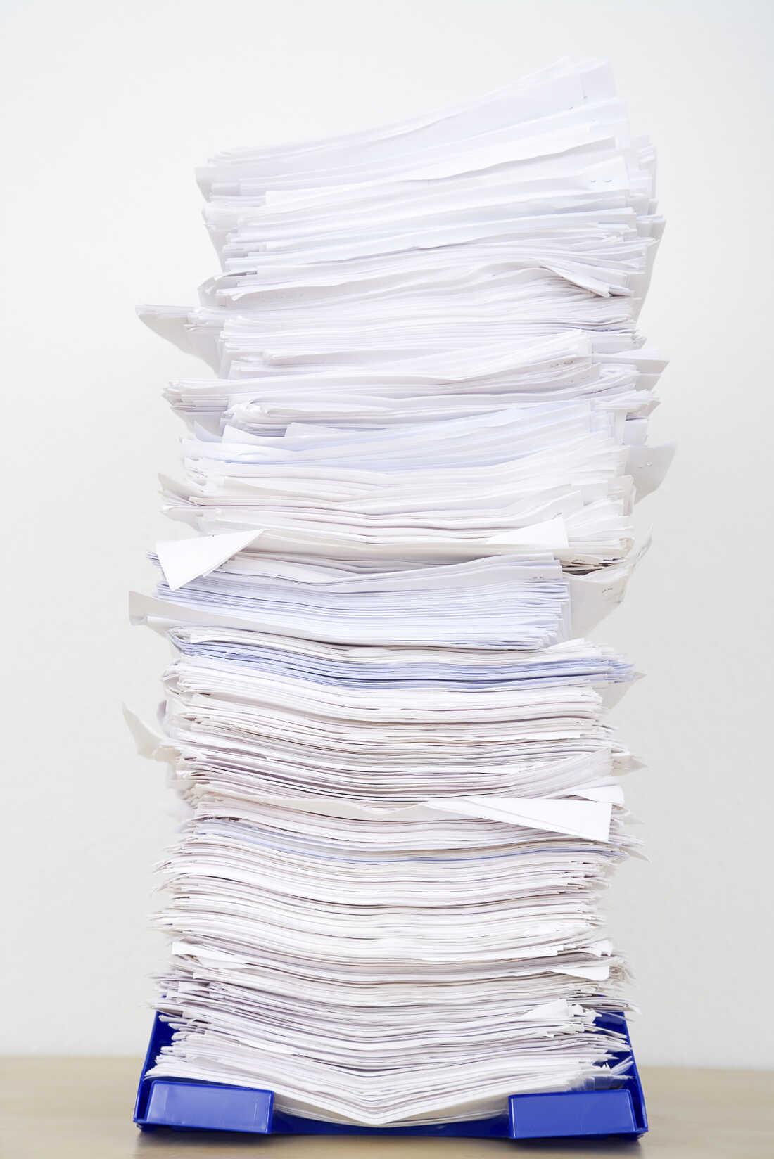 Paperwork.