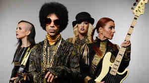Prince has two new albums out, Art Official Age under his own name and Plectrumelectrum with 3RDEYEGIRL (pictured).
