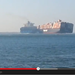 WATCH: Container Ships Collide In Suez Canal