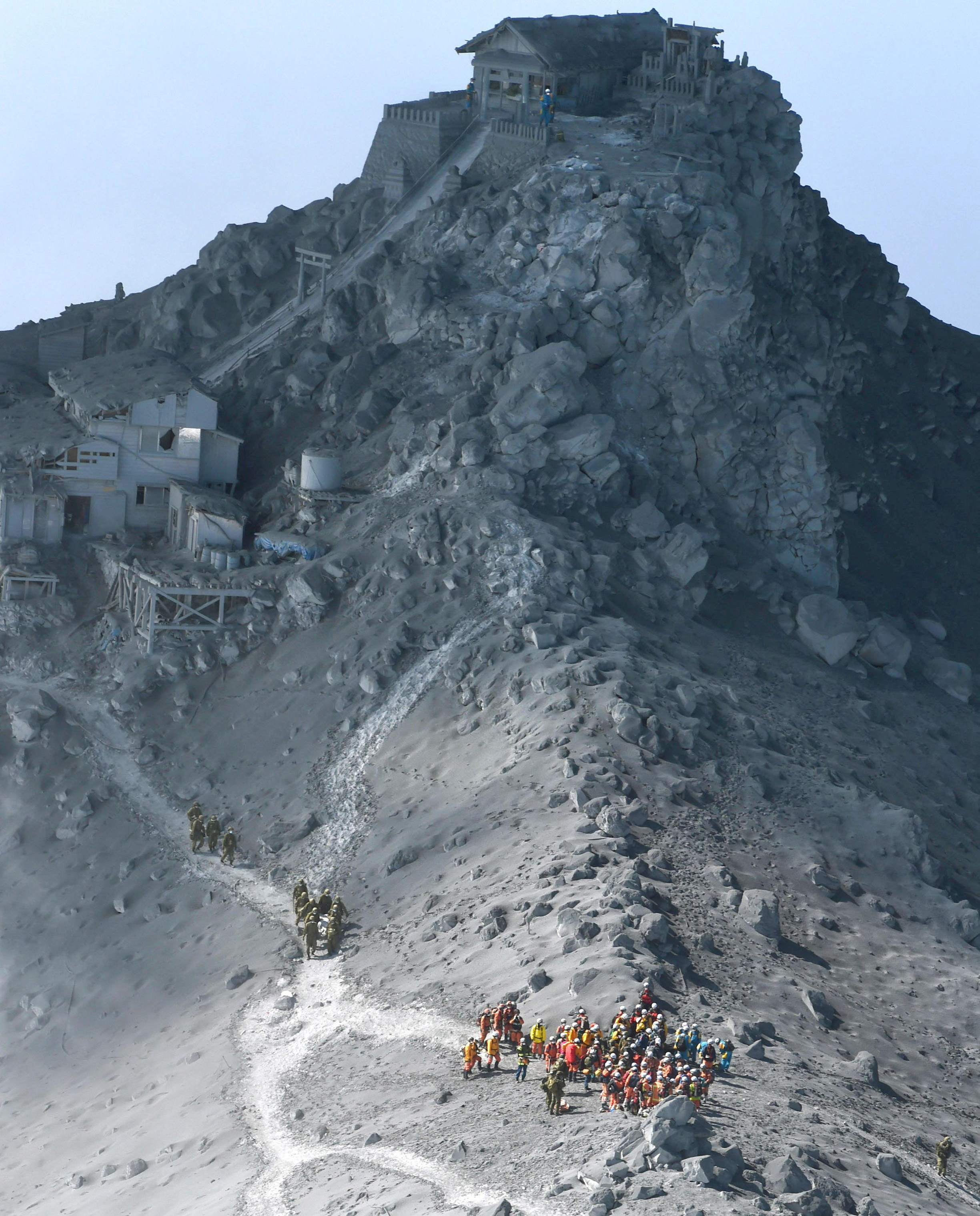 Death Toll From Japanese Volcano Rises