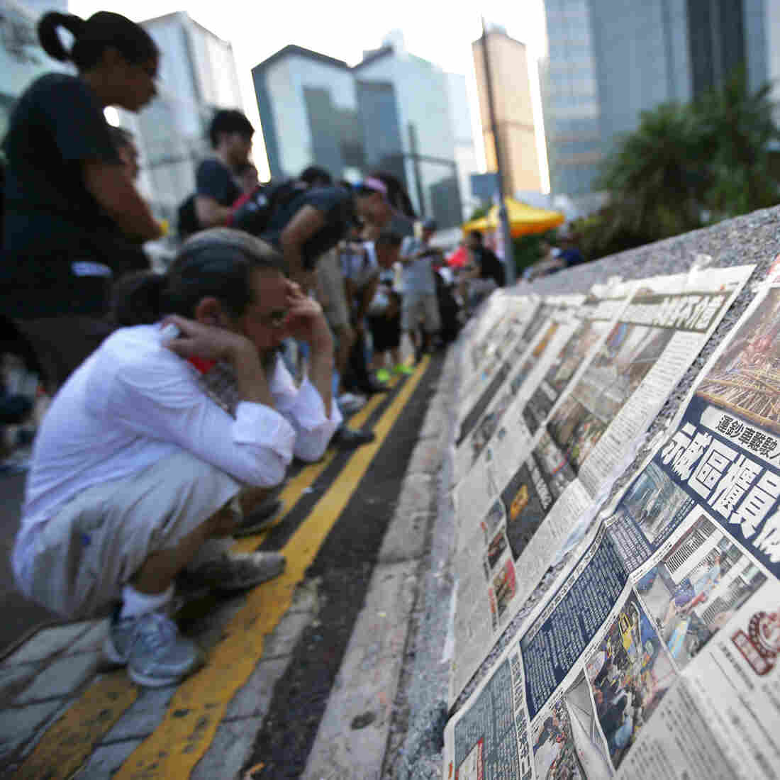 One System, Two Media: How China, Hong Kong Are Covering The Protests