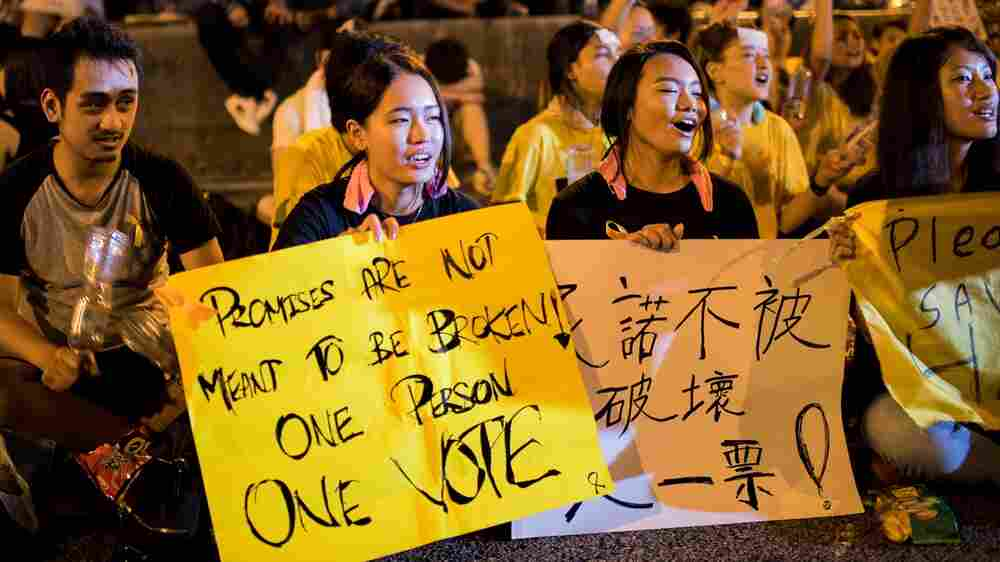 Hong Kong Protests Offer A Revelation To Mainland Chinese