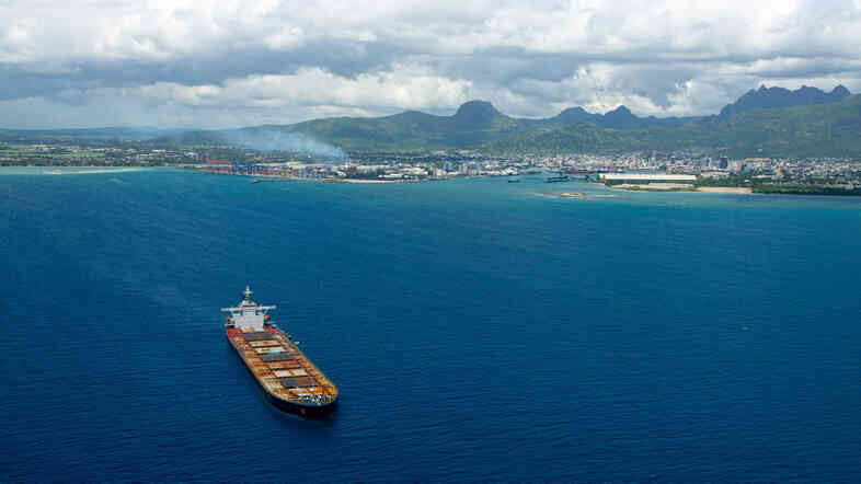 """Port Louis is the capital of Mauritius, known as the """"Switzerland of Africa"""" because of its wealth and its mountains. The country has banned visitors from Ebola-stricken nations."""