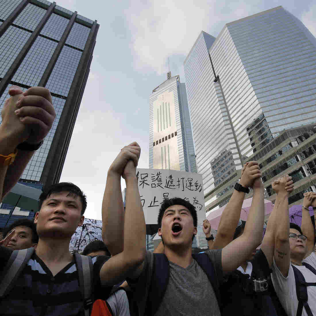 Hong Kong Protesters Vow To Step Up Pro-Democracy Campaign