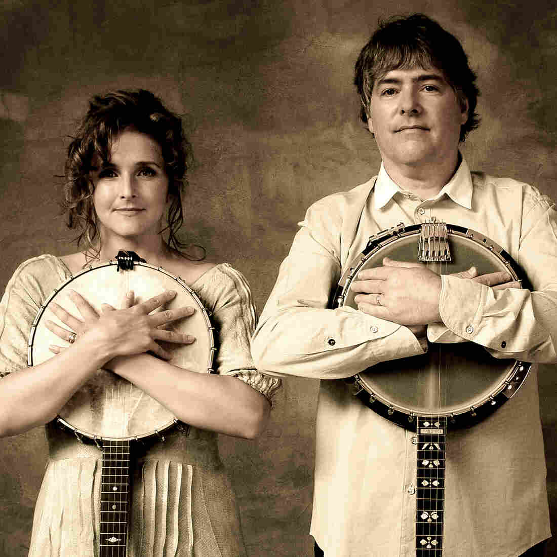 Bela Fleck & Abigail Washburn's new self-titled album, their first as a duo, is out Oct. 7.