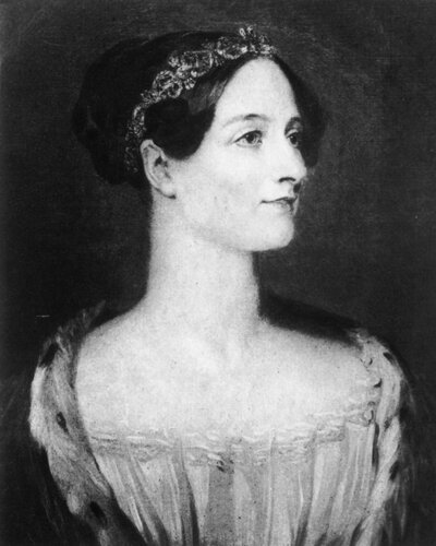 Augusta Ada, Countess of Lovelace, was the daughter of poet Lord Byron. The computer language ADA was named after her in recognition of her pioneering work with Charles Babbage.