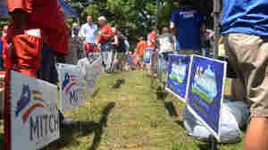 NPR Poll: Senate Battleground Tilts Republican, But Still Anybody's Game