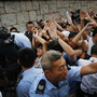 Hong Kong Police Warn Protesters Not To Occupy Government Buildings