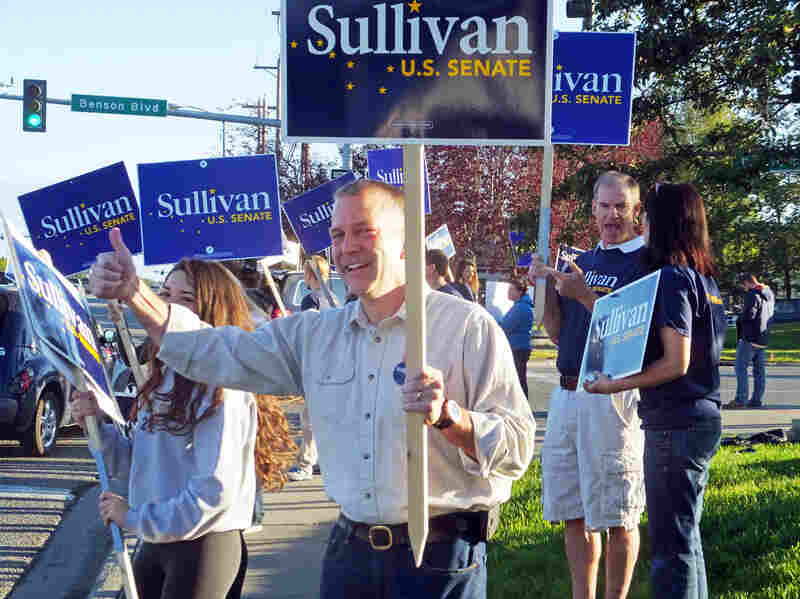 Dan Sullivan, Republican candidate for election to the U.S. Senate, fired back when his opponent attacked him for having a non-resident Alaska fishing license.