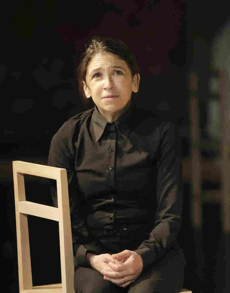 """Hunter says the play isn't ultimately about the neurological conditions of the characters. """"It's about the human being being extraordinary,"""" she says: """"the miracle that is a human being."""""""