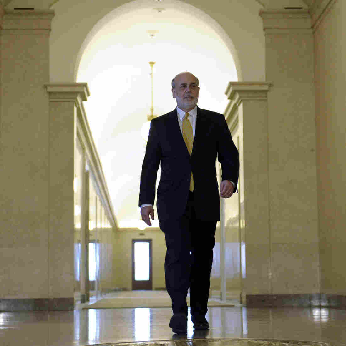 Ben Bernanke stepped down as the chairman of the Federal Reserve in January. He told an audience in Chicago on Thursday that he has had trouble refinancing his home.