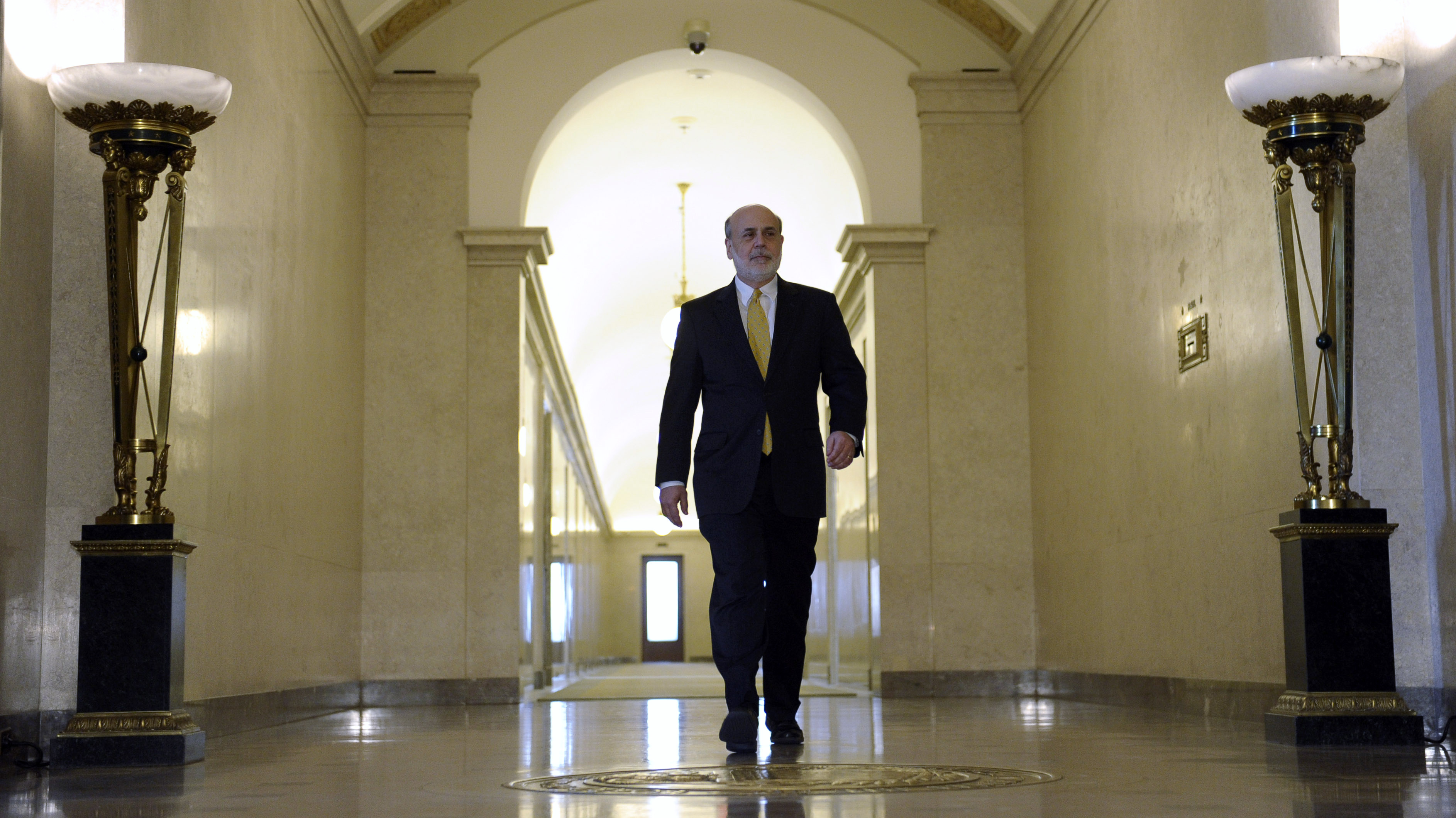 How Tough Is The Mortgage Market? Even Former Fed Chairman Ben Bernanke Can't Get Refinanced : The Two-Way : NPR