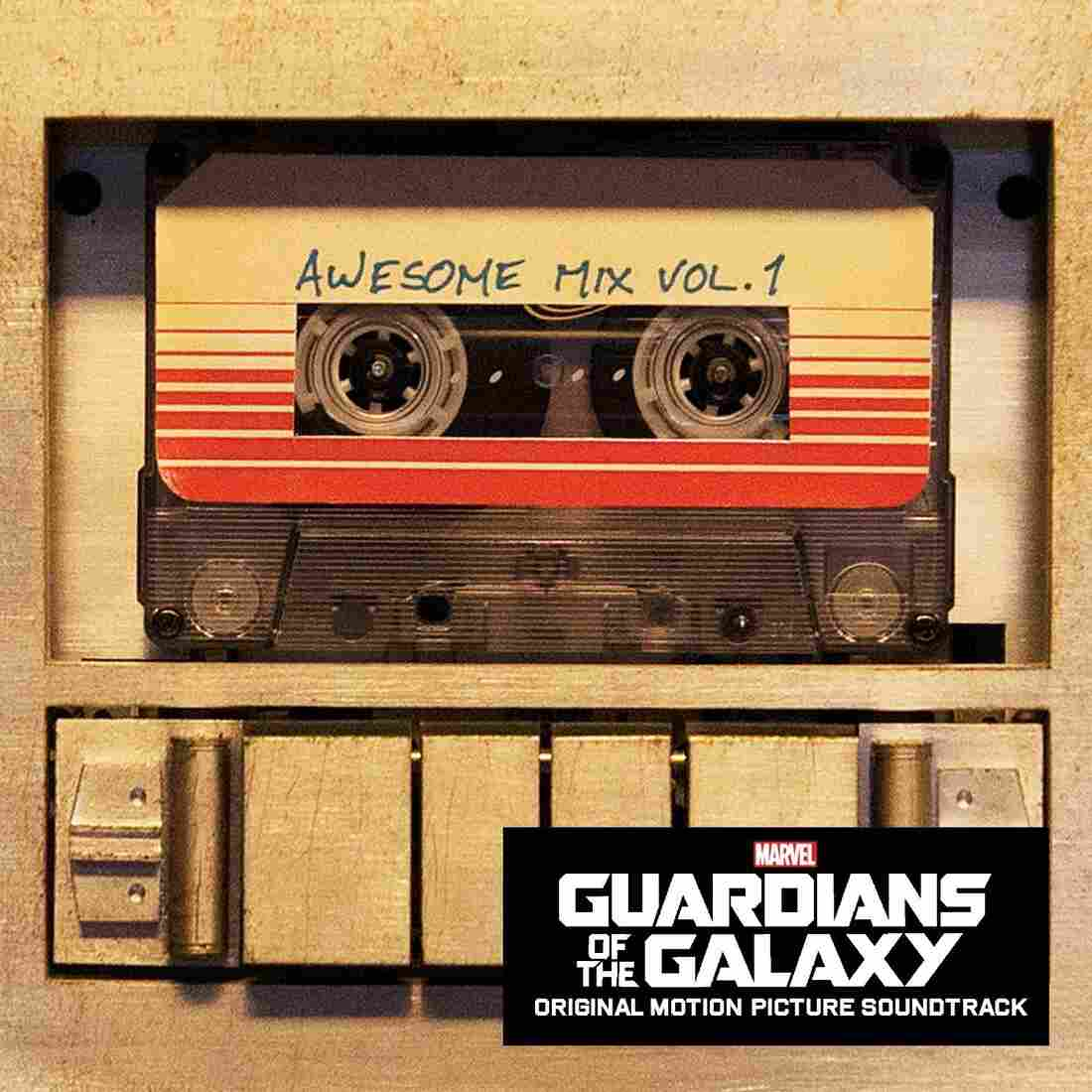 The soundtrack to Guardians of the Galaxy was the first soundtrack composed entirely of previously released songs to top the Billboard 200 album chart.