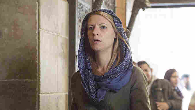 Claire Danes plays Carrie Mathison on Homeland. Season 4 begins Sunday on Showtime.