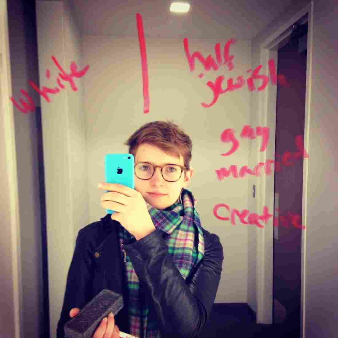 Selena Simmons-Duffin, NPR Producer, 28, Washington, D.C.  Standard Census: #white. #nprcensus: #halfjewish #gaymarried #creative