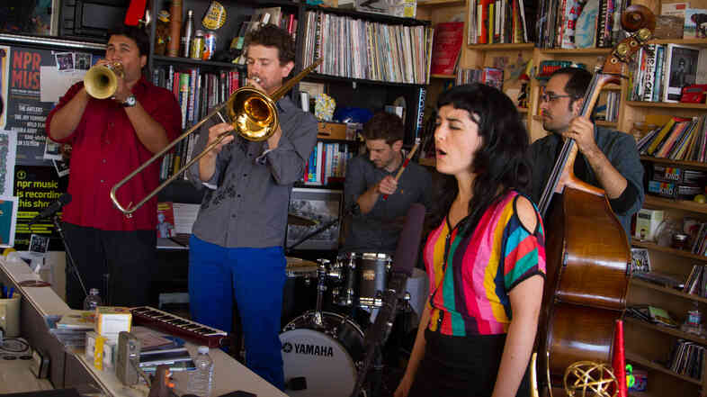 Tiny Desk Concert with Ryan Keberle and Catharsis on September 22, 2014.