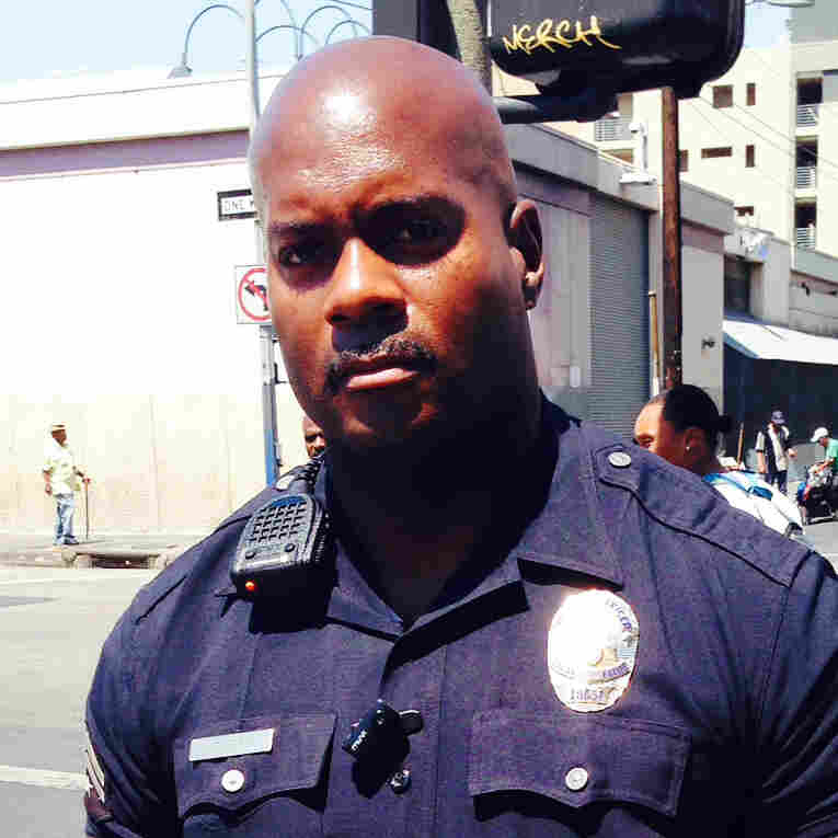 For LAPD Cop Working Skid Row, 'There's Always Hope'