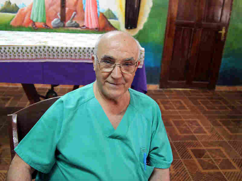 Spanish priest and physician Manuel Garcia Viejo died soon after being evacuated to Madrid from Liberia.