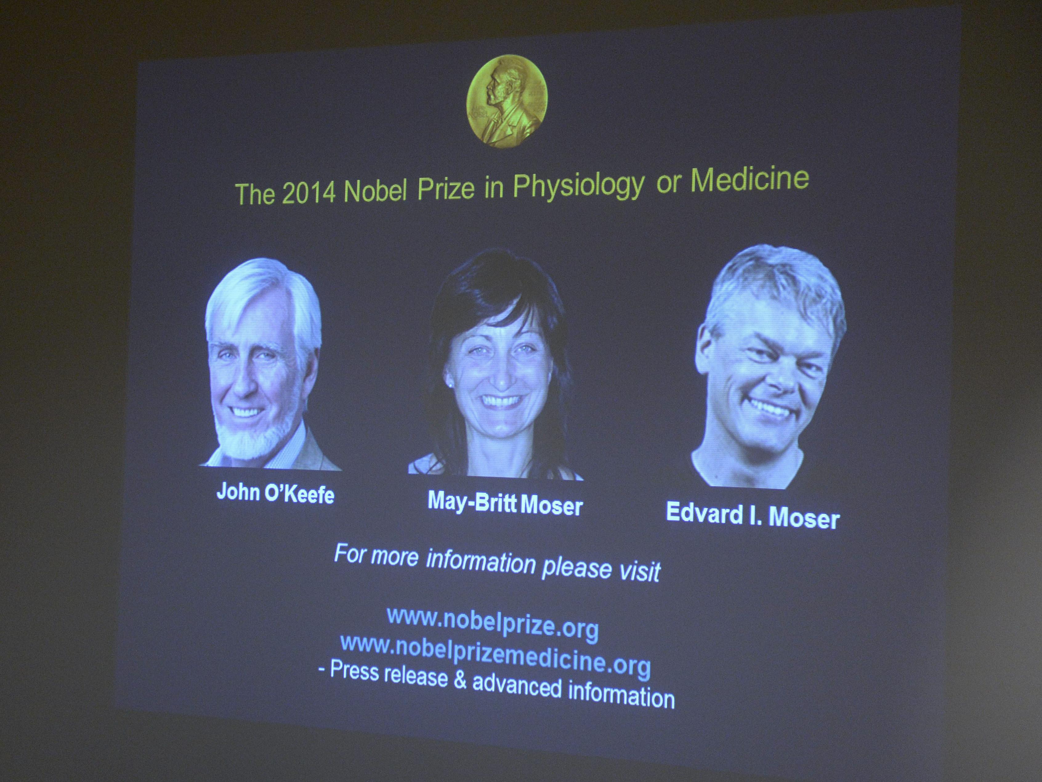 3 Win Nobel Prize In Medicine For Discovering Brain's 'Inner GPS'