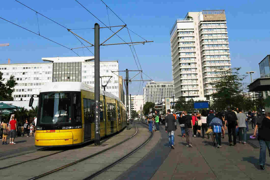 During the Cold War, streetcars were found mainly in East Berlin, while people in West Berlin generally used subways. Now anyone can use any mode of transport they want to get around the city.