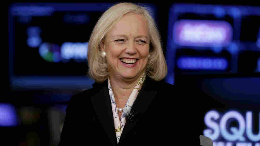 Meg Whitman, the current president and CEO of Hewlett-Packard, will lead one of the two companies the tech giant is creating by dividing its corporate services and printing/PC units.