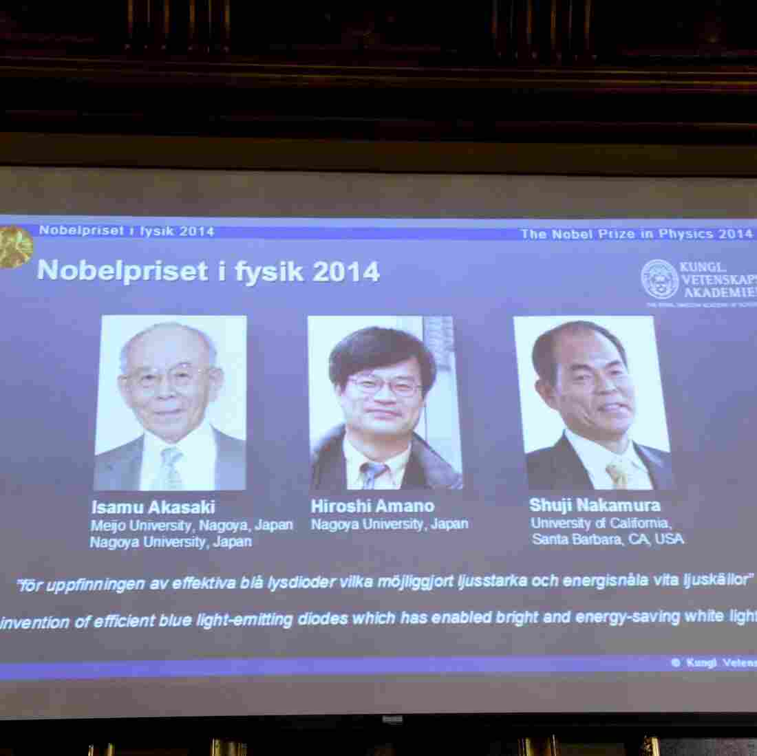 3 Scientists Win Nobel In Physics For Development Of Blue LED