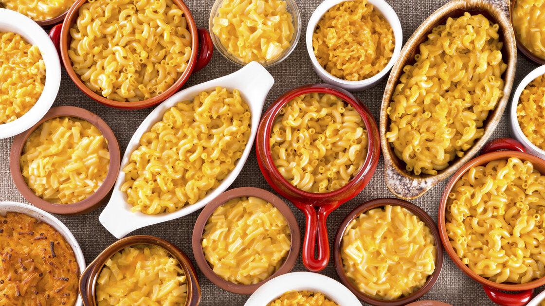 mac & cheese comfort food