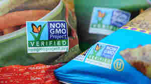 Labels on bags of snack foods indicate they are non-GMO food products. This fall, Colorado and Oregon will be the latest states to put GMO labeling on the ballot.
