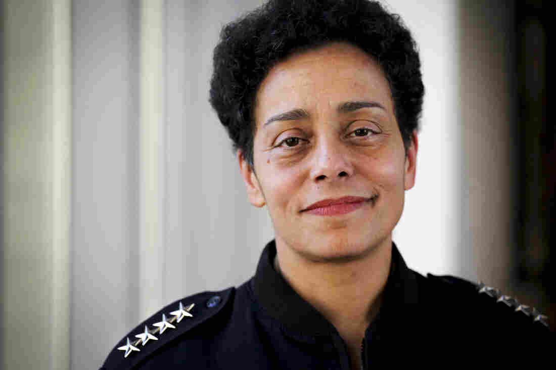 Michelle Howard is the first woman to achieve the rank of four-star admiral in the Navy.