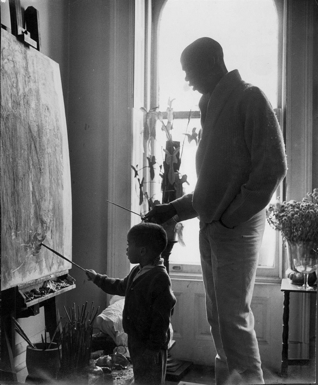 Dancer, choreographer, director, actor and painter Geoffrey Holder died Sunday. His son, Leo, writes about the remarkable last night he spent with his father.