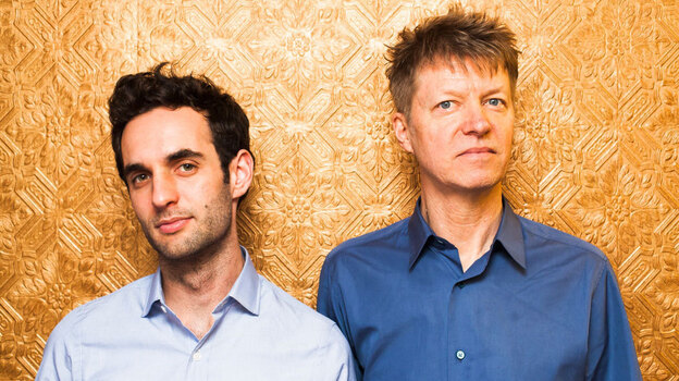 Nels Cline and Julian Lage's new collaborative album is called Room. (Courtesy of the artist)