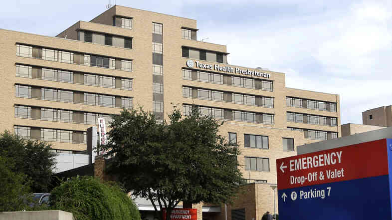 Thomas Eric Duncan died at Texas Health Presbyterian Hospital in Dallas Wednesday morning. He is the first person to have been diagnosed with Ebola in the United States.