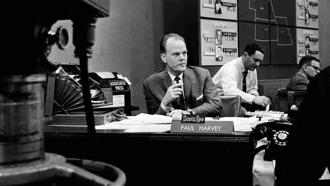 Paul Harvey covers Election Night in 1958.