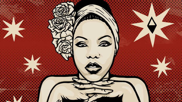 La Dame Blanche is a Cuban rapper and jazz vocalist. (Courtesy of the artist)