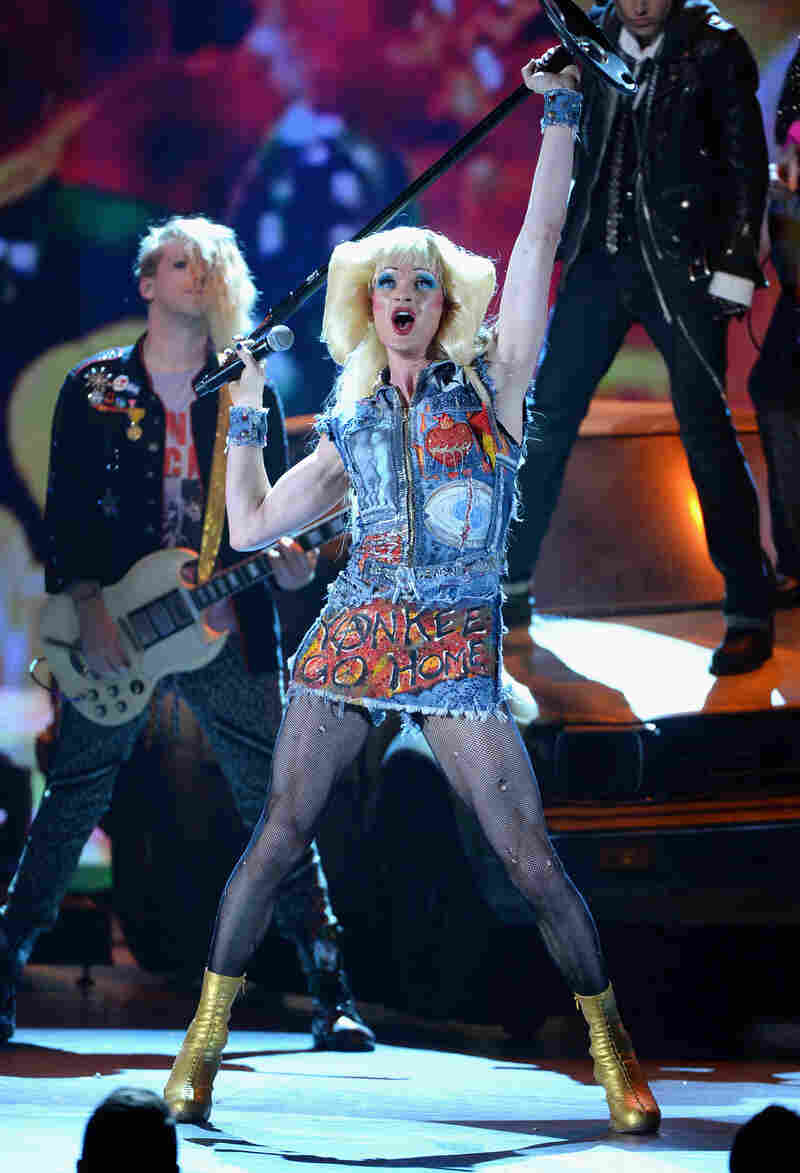 This year, Harris won a Tony for his role as the transgender woman Hedwig in the Broadway play Hedwig and the Angry Inch.