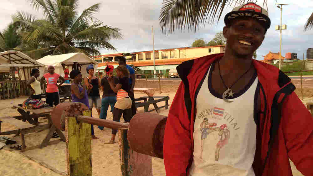 Postcard From Freetown: On The Beach, Life — And Dreams — Go On